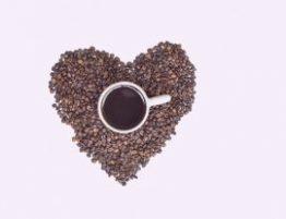 Coração e café