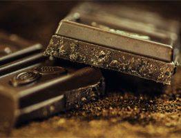 Uma barra de chocolate