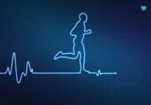 Eletrocardiograma de um coração de atleta