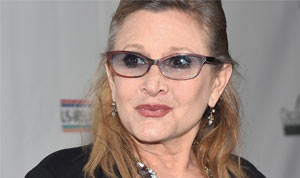 Carrie Fisher, vítima de Infarto agudo do miocárdio