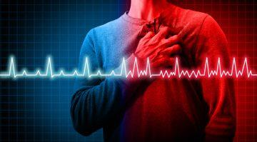 Paciente é afetado pelos sinais de um infarto